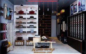 پروژه آماده فشن شاپ (فروشگاه کفش ، پوشاک و عینک) برای تری دی مکس