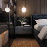 پروژه آماده طراحی اتاق خواب برای تری دی مکس شماره 5