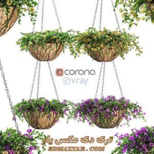 آبجکت گل و گیاهان طبیعی برای تری دی مکس شماره 33