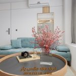 پروژه آماده طراحی فضای داخلی آپارتمان برای تری دی مکس شماره 5