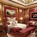 پروژه آماده فضای اتاق خواب برای تری دی مکس شماره 6