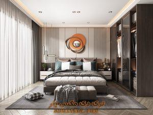 پروژه آماده اتاق خواب برای تری دی مکس شماره 9