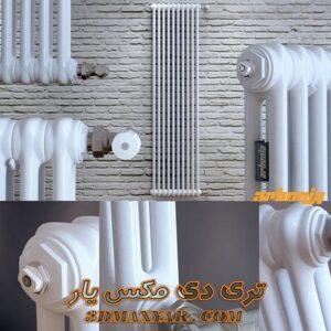 آبجکت شوفاژ و رادیاتور برای تری دی مکس شماره 18