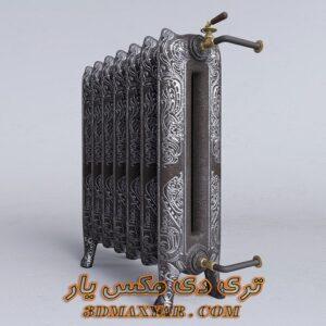 آبجکت شوفاژ و رادیاتور برای تری دی مکس شماره 8