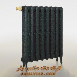 آبجکت شوفاژ و رادیاتور برای تری دی مکس شماره 9