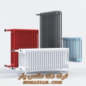 آبجکت شوفاژ و رادیاتور برای تری دی مکس شماره 11