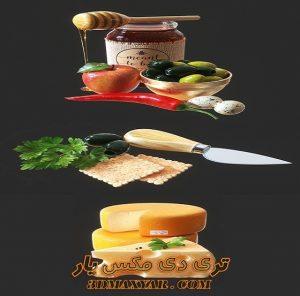 آبجکت مواد غذایی برای تری دی مکس شماره 24