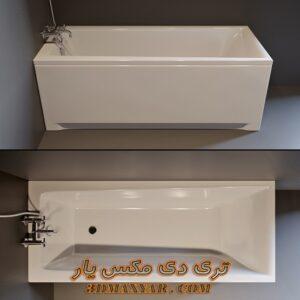آبجکت وان حمام برای تری دی مکس شماره 30
