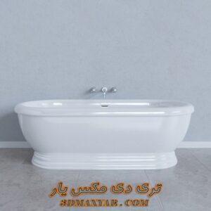 آبجکت وان حمام برای تری دی مکس شماره 29