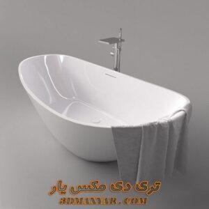 آبجکت وان حمام برای تری دی مکس شماره 28
