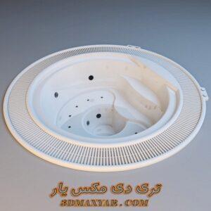 آبجکت جکوزی برای تری دی مکس شماره 43