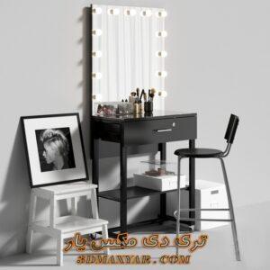 آبجکت میز آرایش برای تری دی مکس شماره 47