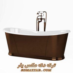 آبجکت وان حمام برای تری دی مکس شماره 33