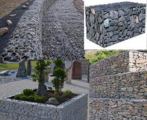گابیون یا تور سنگ چیست و چگونه می توان از آن در محوطه سازی استفاده نمود؟