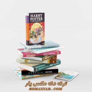 دانلود آبجکت کتاب برای تری دی مکس شماره 3
