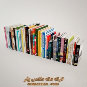 دانلود آبجکت کتاب برای تری دی مکس شماره 5