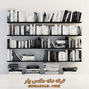 دانلود آبجکت کتاب برای تری دی مکس شماره 10